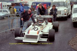 "March 792 Norman Dickson's car  Mallory Park Aurora AFX F1 1979 7x5"" photo"